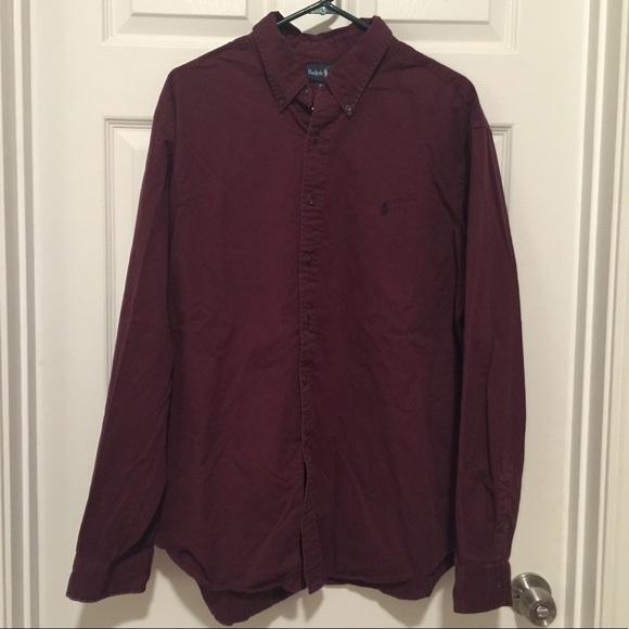 Ralph Lauren Other - Men's Ralph Lauren Burgundy button down shirt